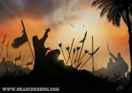 پوستر حضرت زینب سلام الله علیه در کنار حضرت عباس علیه السلام