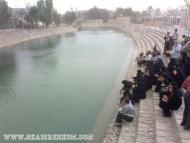 مقام امام زمان ارواحنا فداه و نهر حسینی